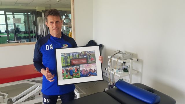 Thanks for 3 years of hard work to our physio Danny Naessens ! #kvoostende #respect