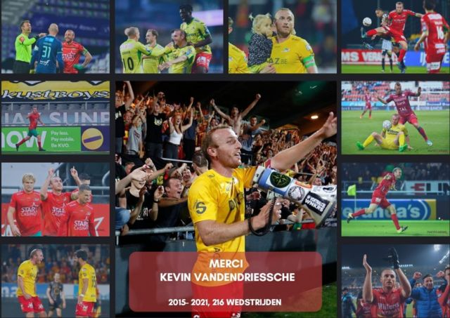 Thanks Kevin ! (the goodbye video will follow later next week 😉) #stakvo #goodbye #ostendboy #kvoostende