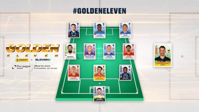 Congrats @arthurtheate & @alexanderblessin to be voted in the @elevensportsbe Team of the Season. #kvoostende #eleven #teamoftheseason #goldeneleven