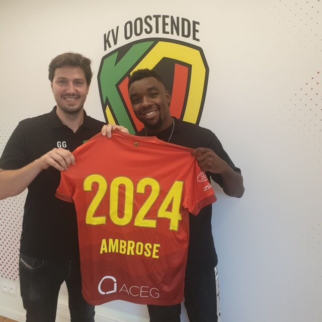 Welcome to our new striker @thierryambrose68 ! He joins us from @fcmetz.  #kvoostende #newstriker #ambrose