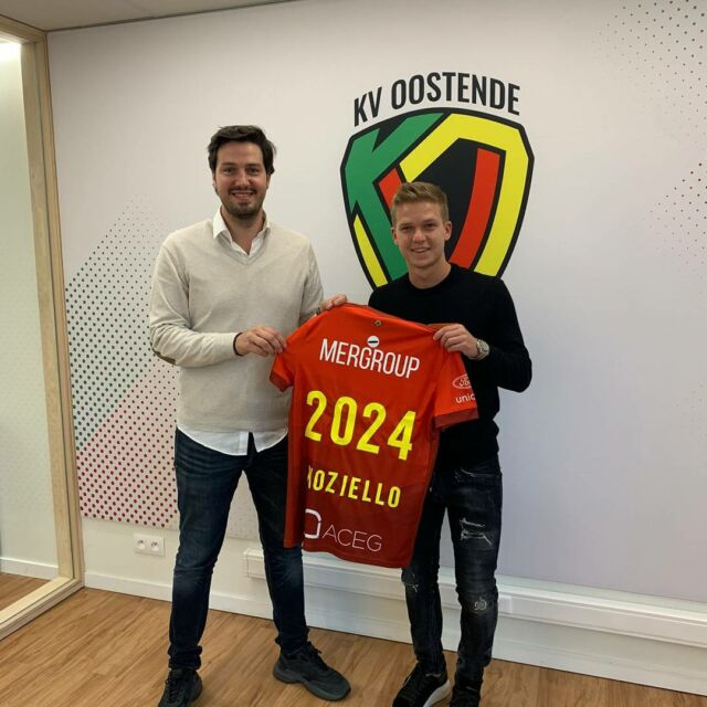 """Welcome @vincentkoziello !   @gganaye : He is a top player who already knows our style of play. His creativity will be an asset for the team."""" #kvoostende #koziello #newmidfielder #fckoln"""